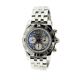 Breitling AB014012 Chronomat 41 Diamond Stainless Steel Mens Watch