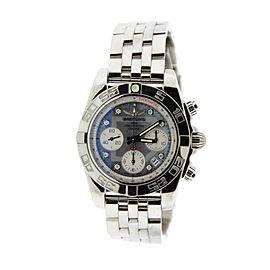 Breitling AB014012 Chronomat 41 Diamond Stainless Steel Mens Watch