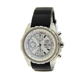 Breitling A1336512/A736 Bentley GT II Chronograph Stainless Steel Mens Watch