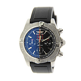 Breitling Windrider Blackbird Chronograph A4436010/BB71 Stainless Steel Mens Watch