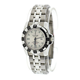 Tudor Hydronaut II 24030 Stainless Steel Silver Dial Automatic 30mm Womens Watch