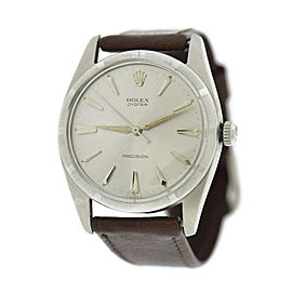 Rolex Oyster Precision 6425 Stainless Steel 30mm Watch