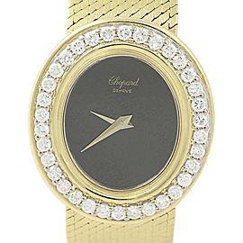 Chopard 18K Yellow Gold with 1.36ctw Diamond Quartz 26mm Womens Watch