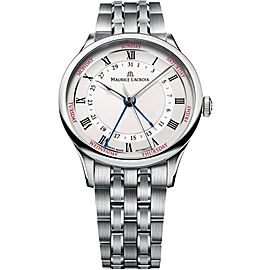 Maurice Lacroix MP6507-SS002-11 Stainless Steel 40mm Mens Watch