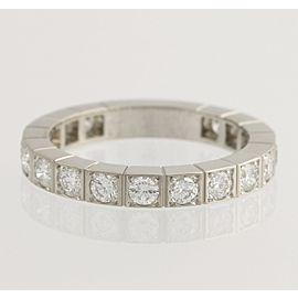 Cartier 18K White Gold Diamond Wedding Ring