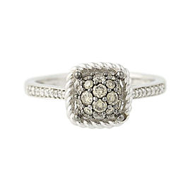 Le Vian 14K White Gold .46ct.Diamond Ring Size 7