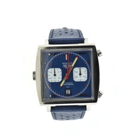 Heuer Monaco 1133B Vintage 40mm Mens Watch