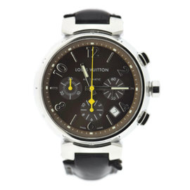 Louis Vuitton Tambour Q1121 41mm Mens Watch