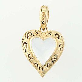 Kabana 14K Yellow Gold Mother Of Pearl, Diamond, Pearl Pendant