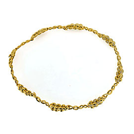 Chanel 18K Yellow Gold Diamond Necklace