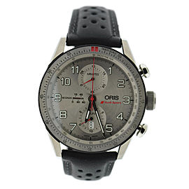 Oris Artix GT Audi Sport 7661 Titanium & Rubber Automatic 44mm Mens Watch