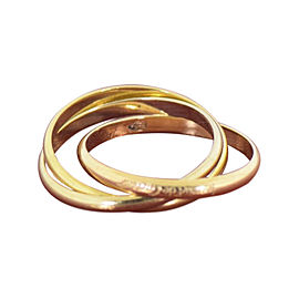 Cartier Trinity 18K Yellow Gold Ring Size 5.75