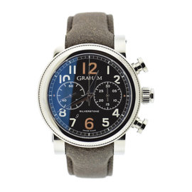 Graham 2BLFS.B36A Stainless Steel & Leather Automatic 47mm Mens Watch