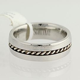 Scott Kay Sterling Silver Wedding Ring