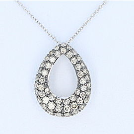 Le Vian 14K White Gold with 1.00ct Diamond Pendant Necklace