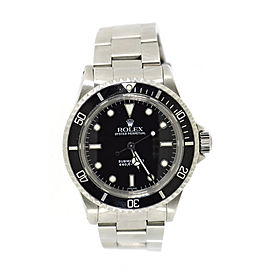 Rolex Submariner 5513 Stainless Steel Black Dial Automatic 40mm Mens Watch 1982