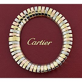 Cartier Vintage 18K Tri Color Gold Bracelet