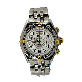Breitling Crosswind B44356 18K Yellow Gold/Stainless Steel Automatic 44mm Mens Watch