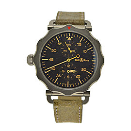 Bell & Ross Vintage Regulator Bomber BRWW2 Mens 49mm Watch