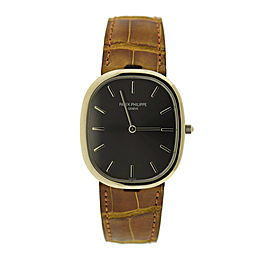 Patek Philippe Golden Ellipse 3738/100G-012 Mens 31mm Watch