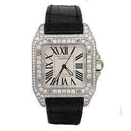 Cartier Santos 2878 34mm Mens Watch