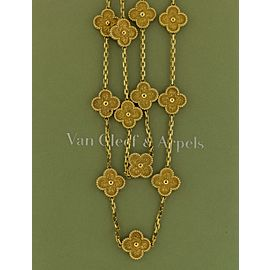 Van Cleef & Arpels 18K Yellow Gold Necklace