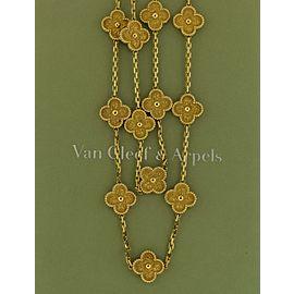 Van Cleef & Arpels 18K Yellow Gold Necklace