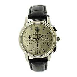 Glashutte Senator 39-32-11-13-04 39mm Mens Watch