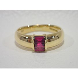 Tiffany & Co. 18K Yellow Gold Ruby Ring Size 6