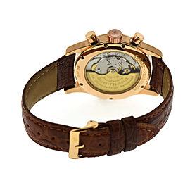 Girard Perregaux Vintage 1945 Chronograph 18K Rose Gold Watch 3940