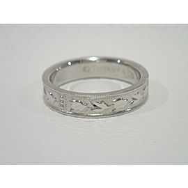 Tiffany & Co. Platinum Ring Size 7