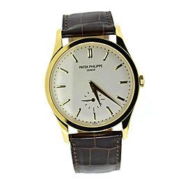 Patek Philippe Calatrava 18K Yellow Gold Watch 5196J