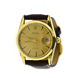 Rolex Oysterdate Precision Two Tone Stainless Steel Watch 6694