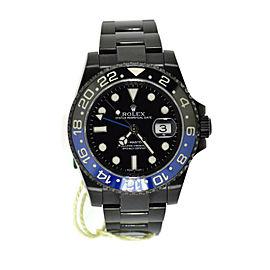 Rolex GMT-Master II Batman PVD Stainless Steel Watch 116710BLNR