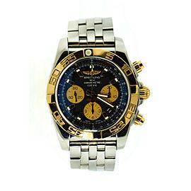 Breitling Chronomat 44 18K Rose Gold/Stainless Steel Watch CB0110