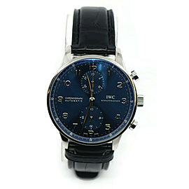 IWC Portugieser Chronograph Stainless Steel Watch IW371491