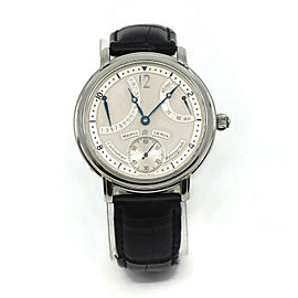 Maurice Lacroix Masterpiece Retrograde Stainless Steel Watch MP6198