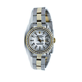 Rolex Datejust Diamond Stainless Steel Watch 69173