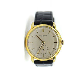 Patek Philippe Calatrava 18K Yellow Gold Watch 2484