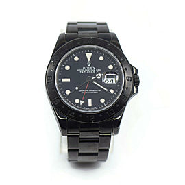 Rolex Explorer II Black PVD Stainless Steel Watch 16570