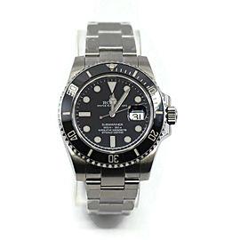Rolex Submariner Ceramic Stainless Steel Watch 116610