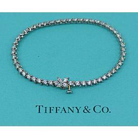 Tiffany & Co Victoria 3.26 CTW Platinum Diamond Bracelet