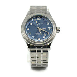 Ball Cleveland Trainmaster Stainless Steel Watch NM1058D