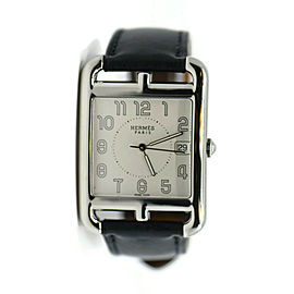Hermes Cape Cod Large Stainless Steel Watch CC1.810