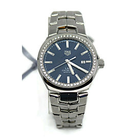Tag Heuer Link Diamond Stainless Steel Watch WBC2113