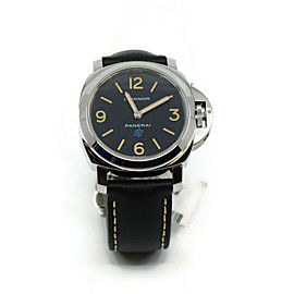 Panerai Luminor Base Logo Stainless Steel Watch PAM634