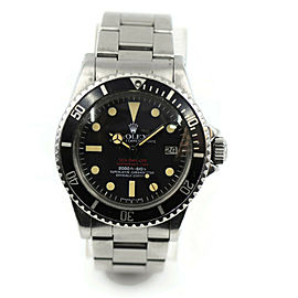 Rolex Sea Dweller Double Red MKIV Dial Stainless Steel Watch 1665