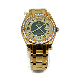 Rolex Masterpiece Day Date Special Edition Diamond 18K Yellow Gold Watch 18948