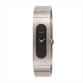 Gucci Bangle Collection Stainless Steel Watch YA024601