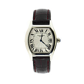 Cartier Tortue Platinum Watch W1546151